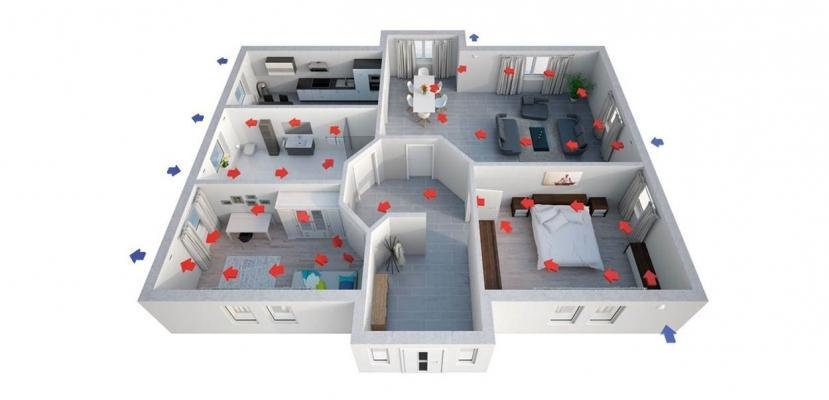 Viessmann ricambio aria casa con la ventilazione meccanica controllata