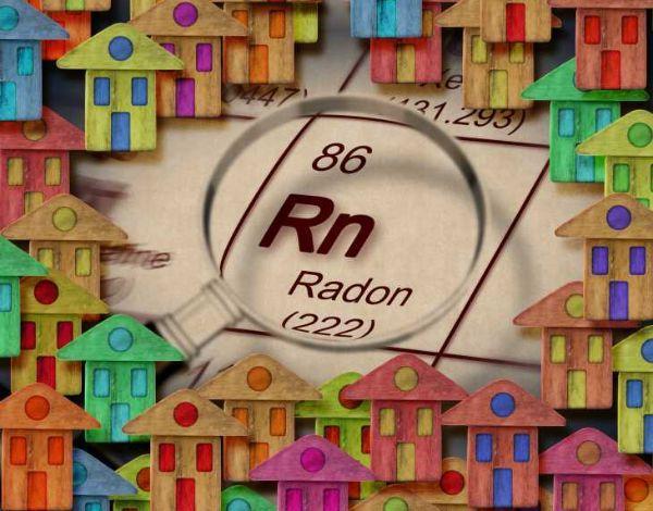 Il gas radon è nocivo alla salute dell'uomo