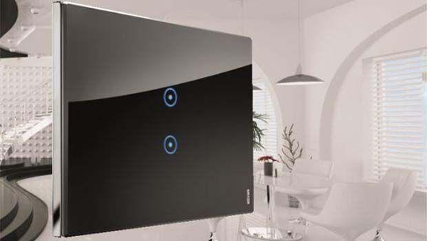 Punti luci touch screen per la casa high tech
