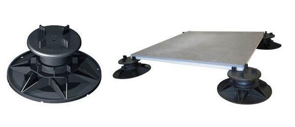 Sistema Twin Floor per pavimenti soprelevati da esterno, by Nesite