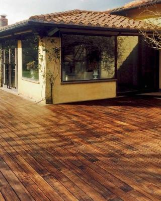 Pavimento flottante per esterni Skudo Bamboo by iDecking