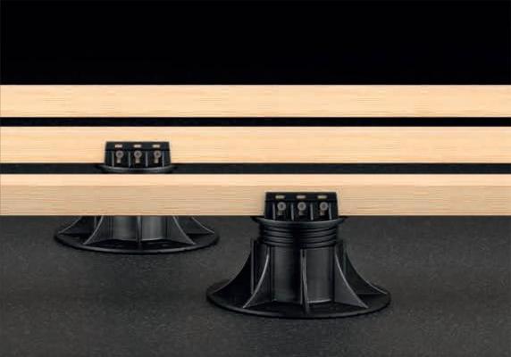 Travetti per pavimenti flottanti in legno per esterni, by Eterno Ivica