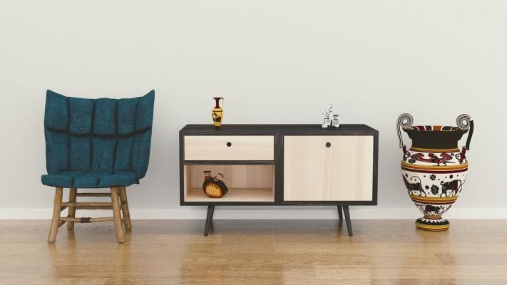 Il Feng Shui vuole che i mobili del soggiorno siano lungo le pareti
