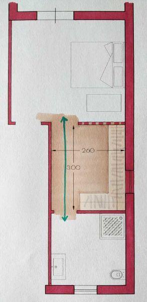 Cabina passante - Progetto Arch. Caterina Scamardella