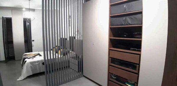 Cabina armadio passante - progetto Arch. Caterina Scamardella