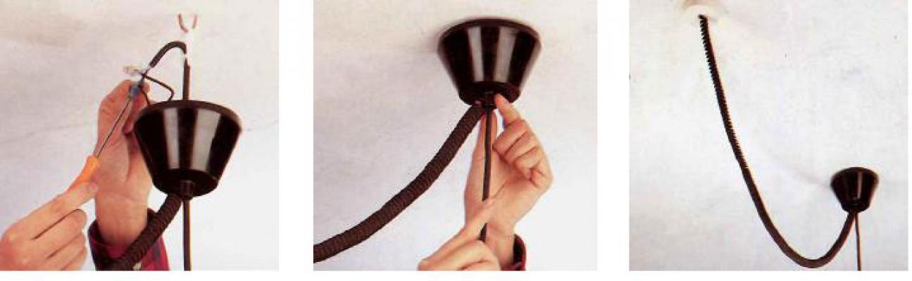 Come installare u lampadario sospeso