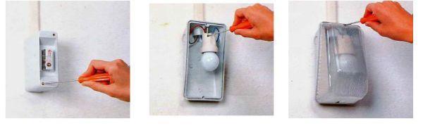 Come installare le lampade