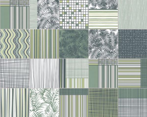 Ceramiche di vietri pattern verde Colors savoia italia