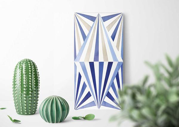 Ceramiche Vietri collezione bauhaus Mavi ceramiche