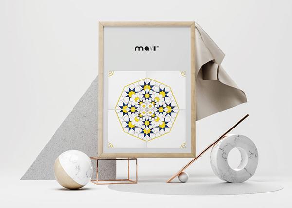 Ceramiche Vietri collezione bloom Mavi ceramiche