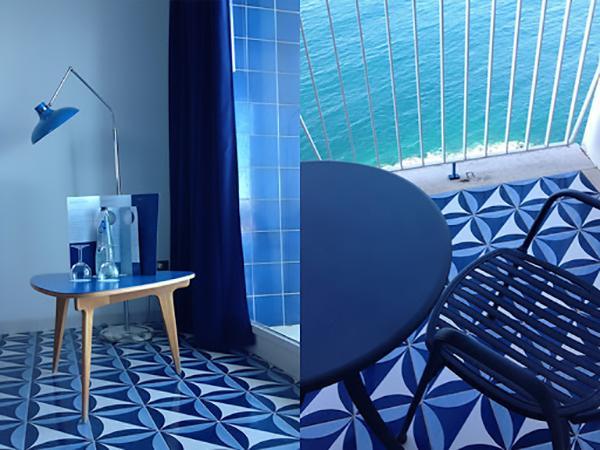 Maioliche di Vietri Blu Ponti Hotel parco dei principi