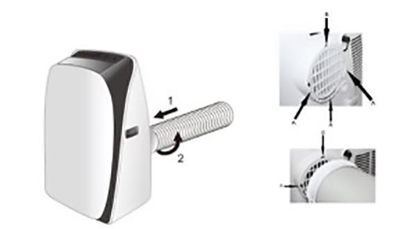Condizionatore portatile Argo SOFTY