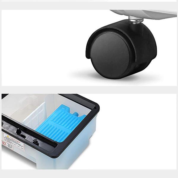 Trasportabilità del condizionatore portatile