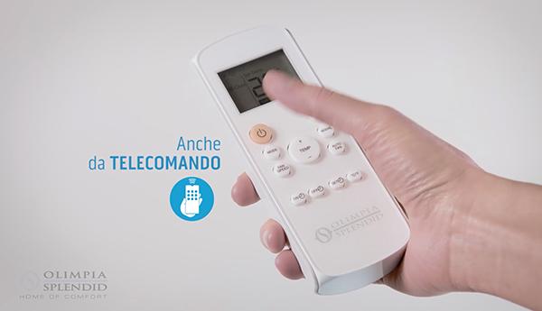 Telecomando del condizionatore portatile Olimpia Splendid