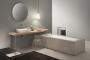 Vasca da bagno in appoggio Makro design