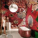 Vasca da bagno mosaico flower power Sicis design
