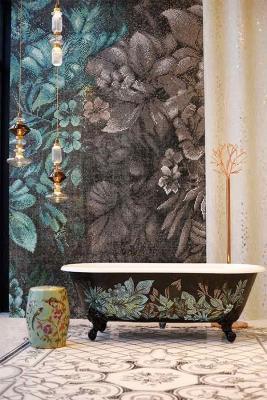 Vasca da bagno mosaico Sicis