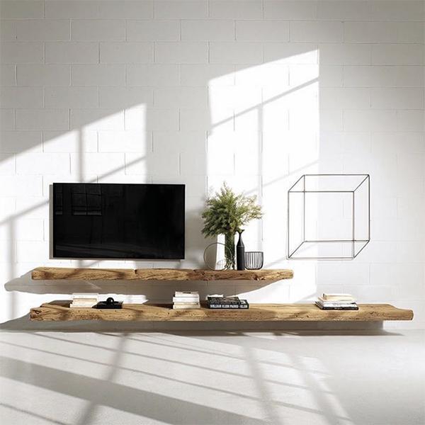 Mobile living in legno di rovere, Naturedesign