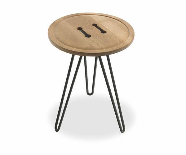 Tavolino in legno Button di Riva1920
