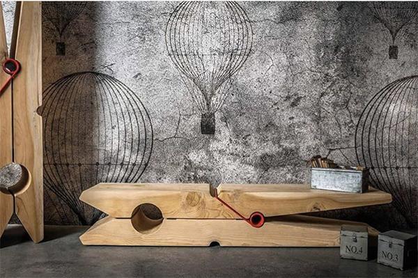 Mobili in legno dal design originale: Molletta di Riva1920
