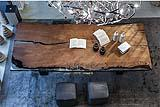 Tavolo in legno di Pino, di Riva 1920