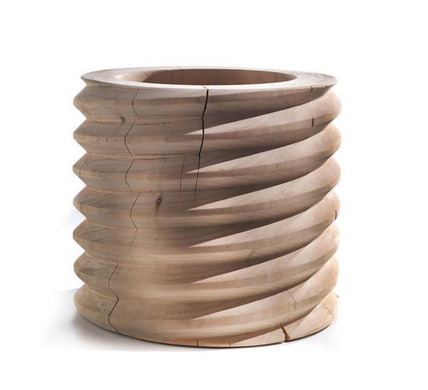 Oggetti in legno: vaso Vitae di Riva1920