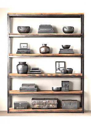 Libreria mobile in legno ferro, Pavese by Xlab design