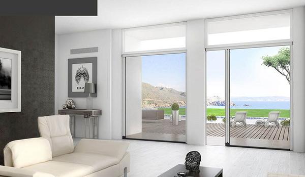 Zanzariere per grandi finestre Mv Line design