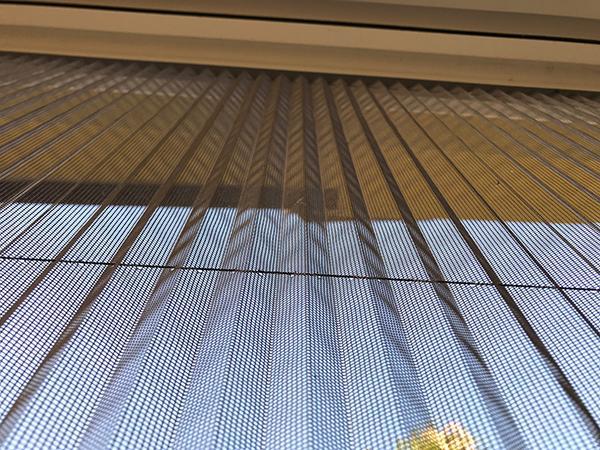 Zanzariere per porte e finestre plissè