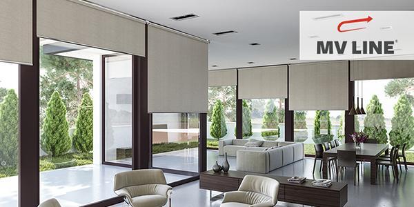 Zanzariere per porte e finestre design elegante MV Line