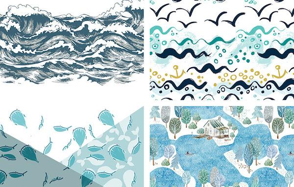 Rivestimenti casa vacanze: mosaici Gemanco Design, collezione Water 2019