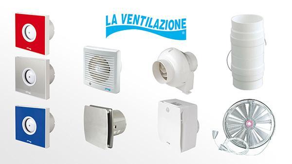 Aeratori e aspiratori elettrici La Ventilazione - Gruppo First Corporation