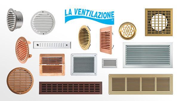 Griglie d'aerazione in metallo La Ventilazione - Gruppo First Corporation