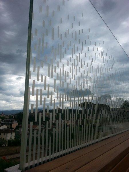 Balaustra in vetro - Inglas vetri
