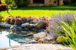 Un angolo di natura privilegiato con i laghetti artificiali da giardino