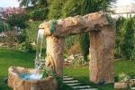 Laghetto da giardino con cascata, da Marcozzi Group