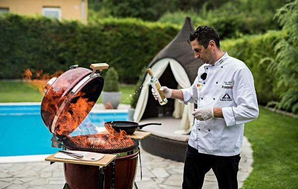 Barbecue Kamado Chef 1900 su Amazon