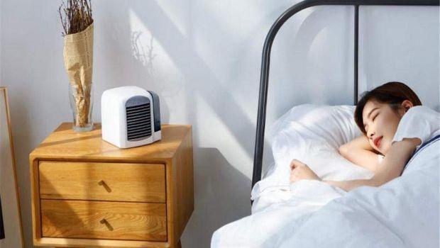 Ventilatore a soffitto, ventilatore ad acqua e ventilatore portatile