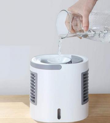 Ventilatore ad acqua con serbatoio su Amazon