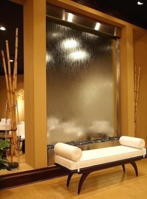 Muro d'acqua vetro trasparente - Aqualed