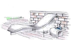 Sedute in cemento: pratiche soluzioni per esterni moderni