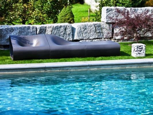 Sedute in cemento outdoor Dune - Swisspearl® Italia