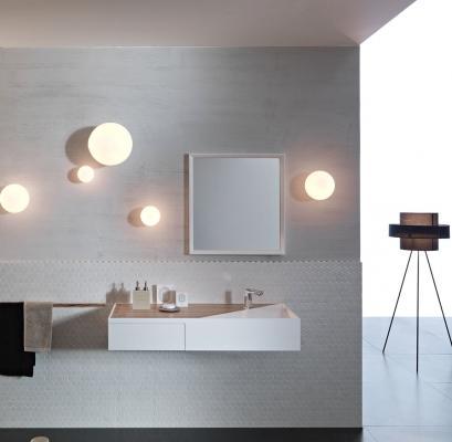 Lampade in vetro a parete Lumi Fabbian