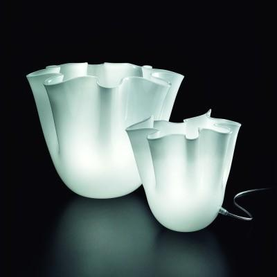 Lampade vetro bianco incamiciato Foulard IMuranesi