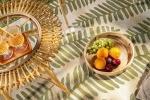 Tappeto con fantasie foglie per esterno di Benuta
