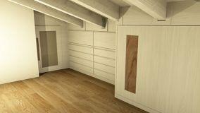 Come realizzare un funzionale armadio a muro in mansarda