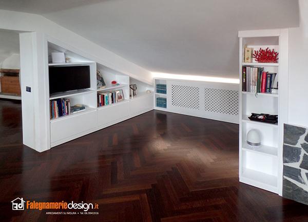 Armadi per mansarda - Falegnamerie Design