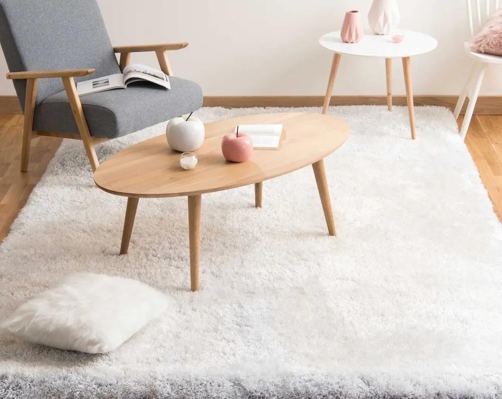 POLAIRE, tappeto écru in stile scandinavo a pelo lungo - Design e foto by Maisons Du Monde