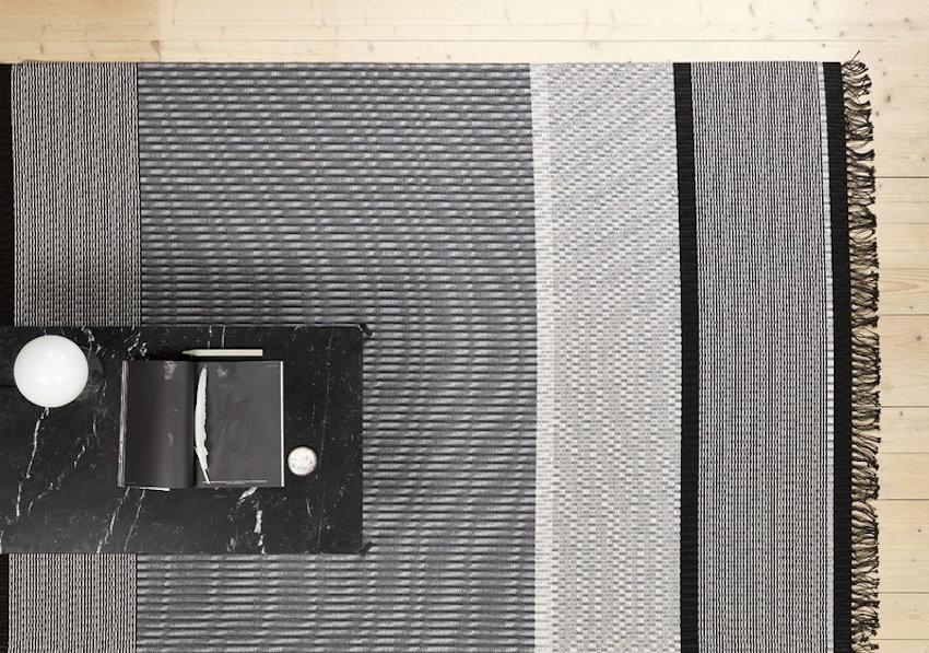Tappeto in stile nordico San Francisco - Collezione Woodnotes