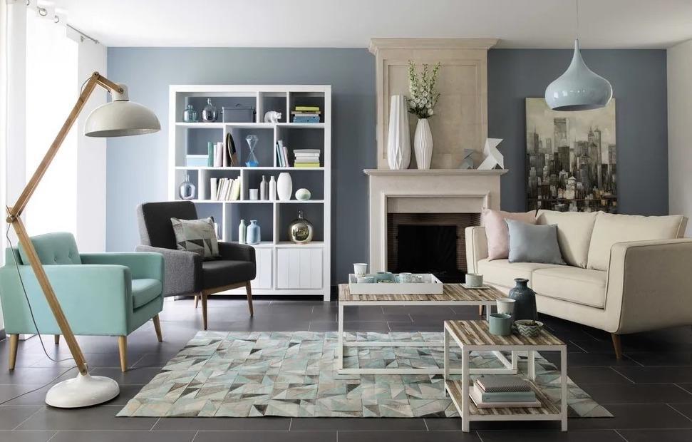 OSCOPE, tappeto in stile nordico in cuoio - Design e foto by Maisons du Monde